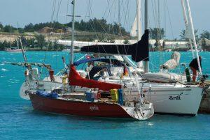 Onze zeilboot gaat mee met de jachttransport van dit bedrijf