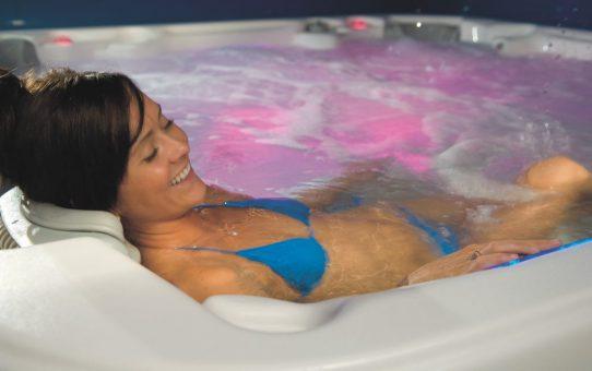 Een spa in de tuin plaatsen van Bodyfit